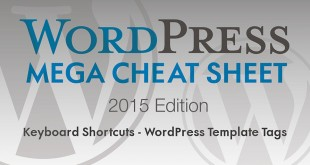 wordpress cheat sheet 2015